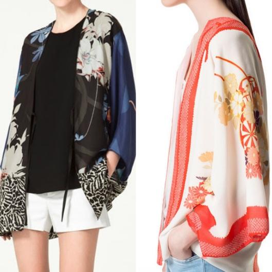 kimono vogue vintage